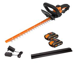 Worx WG261E.1 20V MAX Cordless 46cm Hedge Trimmer - 2 x 1.5Ah