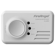 FireAngel CO9B FireAngel LED Carbon Monoxide Alarm Replaceable Battery