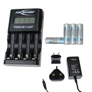 Ansmann 10010011PK4 Powerline 4 Light - 4 x 2500mAh AA Batteries