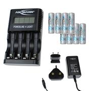 Ansmann 10010011PK8 Powerline 4 Light - 8 x 2500mAh AA Batteries
