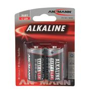 C Redline Alkaline 1.5v batteries Pack of 2