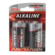 Ansmann 1514-0000 D Redline Alkaline 1.5v batteries Pack of 2