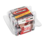 Ansmann 5015538 AAA Redline Alkaline 1.5v batteries Tub of 20