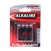 Ansmann 5015553 AAA Redline Alkaline 1.5v batteries Pack of 4