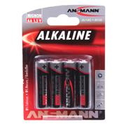 Ansmann 5015563 AA Redline Alkaline 1.5v batteries Pack of 4
