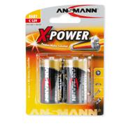 Ansmann 5015623 C X-Power Alkaline 1.5v Batteries Pack of 2