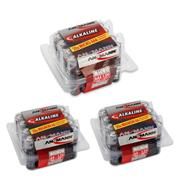 Ansmann 60PACK AA/AAA Redline Alkaline Battery 60 Piece Pack