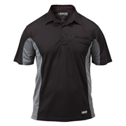 Apache APDMP Dry Max Polo Shirt - Black/Grey