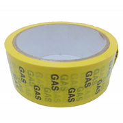 Hayes 662036 Hayes UK ID Tape Gas (Black/Yellow) 38mm x 33m