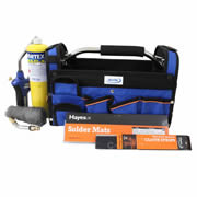 Vortex HOTBAGM VORTEX Brazing Kit -  VT2 Torch MAPP Gas  Accessories and Toolbag