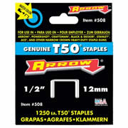 Arrow T5012 Arrow Staples 12mm (5000)