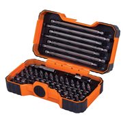 Bahco 59S54B Bahco 54 Piece Colour Coded Screwdriver Bit Set
