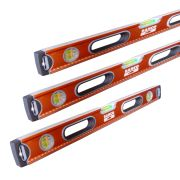 Bahco 6201PACK3 600mm, 1200mm & 1800mm Box Spirit Level Pack 3