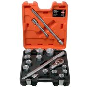 "Bahco SLX17 3/4"" Drive 17 Piece Socket Set"