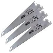 Bahco EX244P22PK3 Ergo Handsaw System 244 Barracuda Blades 550mm/22'' - Pack of 3