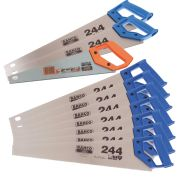 Bahco MIXPACK2 Box of 10 Hand Saws (7x 22'' Standard, 2x 22'' Fine & 1x 14'' Toolbox Saw)