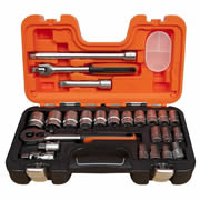 "Bahco S240 Bahco 24 Piece Socket Set (1/2"" Drive)"