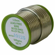 Unbranded 1/2/S/LF Leadfree Solder 0.5kg Coil