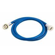 Unbranded 1WMHB Blue Washing Machine Hose 1.5m
