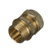 Unbranded BCC22 22mm Compression Coupling - Pack of 10