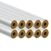 Professional PI15/20FOILPK10 15/20mm Foil Pipe Insulation 1m - Pack of 10