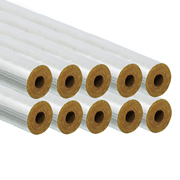 Professional PI22/25FOILPK10 22/25mm Foil Pipe Insulation 1m - Pack of 10