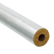 UnBranded PI28/25FOIL 28/25mm Foil Pipe Insulation 1m