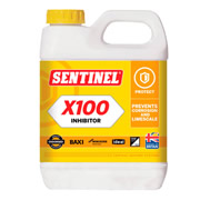 Unbranded SX100 Sentinel X100 Central Heating Scale Inhibitor 1L