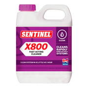 Sentinel SX800 Sentinel X800 Fast Acting Jetflow Cleaner
