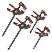 Bessey  4 Piece One Handed Clamp Set