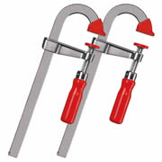 Bessey LMU15/5 Bessey 15/5 U-Style Bar Clamp Pack of 2