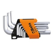 Beta  Beta 96/SC9  Hex Key Wrench With Clip on Case 9 Piece