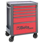 Beta  Beta RSC24/6 MobileRollerCabinet with6Drawers - Red