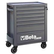 Beta  Beta RSC24/7 MobileRollerCabinet with7 Drawers - Anthracite
