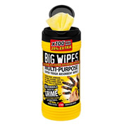 Big Wipes 24108020 Big Wipes Multi-Purpose Wipes (100 Wipes) 25% Extra FREE