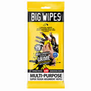 Big Wipes 2414PK2 Big Wipe 4x4 Multi Purpose 40 Wipe Sachet