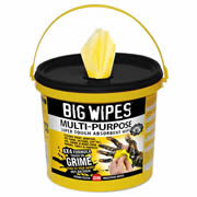 Big Wipes 2417 Big Wipe 4x4 Multi Purpose Wipes - Tub of 300