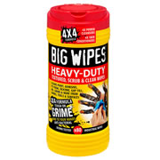 Big Wipes 2420 Big Wipes 4X4 Heavy Duty Wipes (80 Wipes)