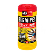 Big Wipes 24208020 Big Wipes 4X4 Heavy Duty Wipes (100 Wipes) 25% Extra FREE