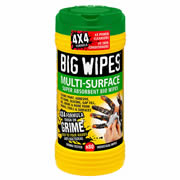 Big Wipes 4x4 Heavy Duty Multi-Surface Wipes (80 Wipes)