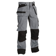 Blaklader 1503 Blaklader Craftsman Trousers - Grey / Black