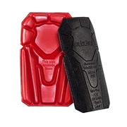 Blaklader 4027 Knee Pads - Black/Red - One Size