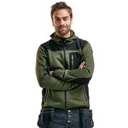 Blaklader 4930AGB Blaklader Knitted Jacket - Army Green/Black