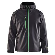 Blaklader 4949BG Blaklader Pro Softshell Jacket - Dark Grey/Green