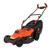 Black & Decker BEMW471BH 38CM 1600W Mower with Bike Handle