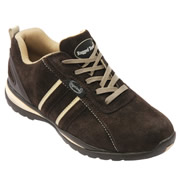 Rugged Terrain RT68CB 'Suede' Safety Trainer (Chocolate/Beige)