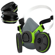 BLS TP2400 BLS Twin Filter Respirator (With A1B1E1K1P3 Filters)