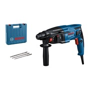 Bosch GBH 2-21 (110V) Bosch GBH 2-21 SDS+ Drill, 3x SDS-Plus Bits, Aux Handle, & Carry Case (110V)