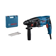 Bosch GBH 2-21 (240V) Bosch GBH 2-21 SDS+ Drill, 3x SDS-Plus Bits, Aux Handle, & Carry Case