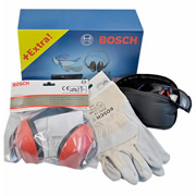 Bosch 0615990ER3 Bosch Glasses, Gloves and Ear defender set